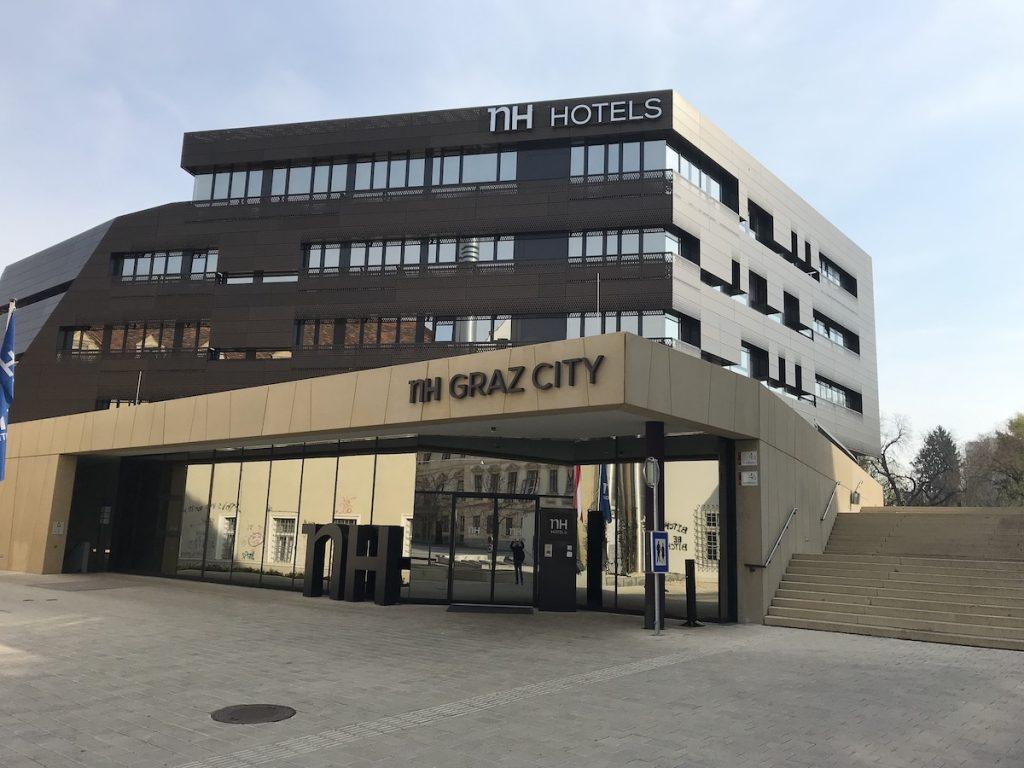 NH Hotel city Graz overnachten in Graz