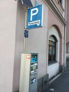 Parkeren in Graz