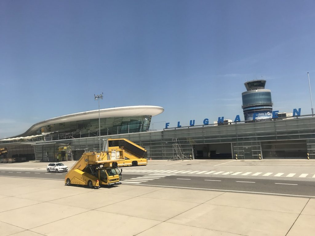 Vliegveld Graz Thalerhof