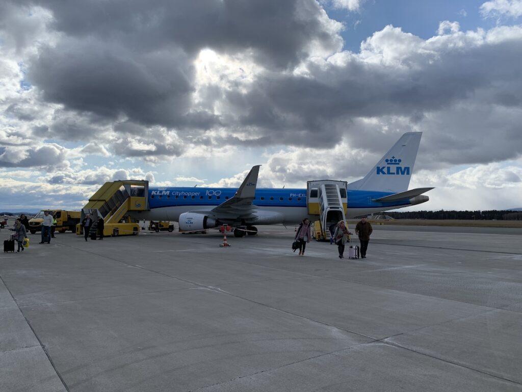 Hoe kom je in Graz met de KLM